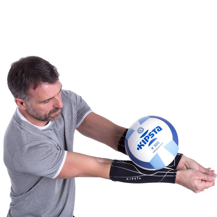 Manchons de volley-ball V100 noirs - 1155029