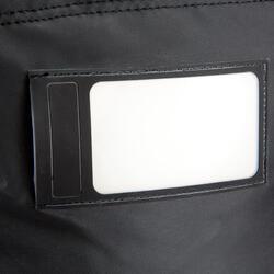 Trekkingtas op wieltjes 100 l zwart - 115505