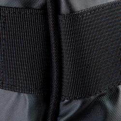 Trekkingtas op wieltjes 100 l zwart - 115506