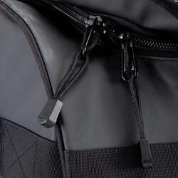 Trekkingtas op wieltjes 100 l zwart - 115508