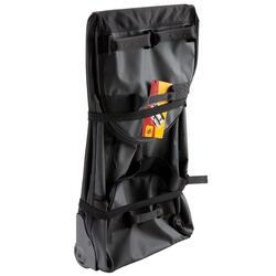 Trekkingtas op wieltjes 100 l zwart - 115509