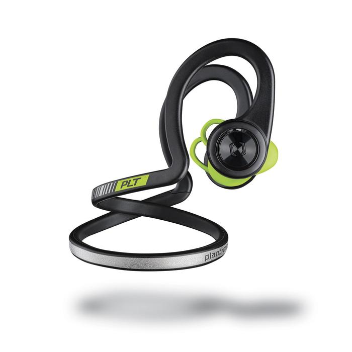 Ecouteurs sports sans fil Backbeat Fit bluetooth noir vert - 1155161