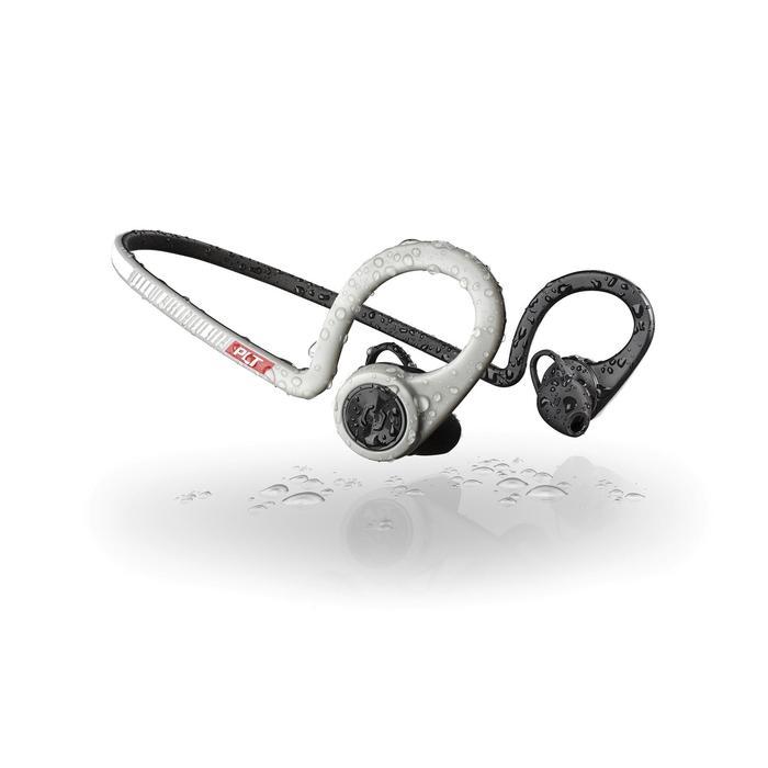 Ecouteurs sports sans fil Backbeat Fit bluetooth gris noir - 1155162