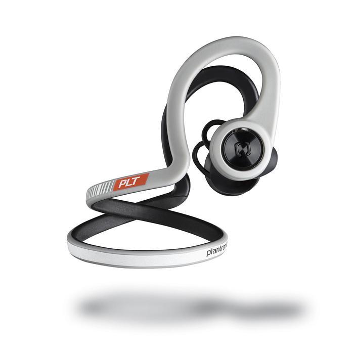 Ecouteurs sports sans fil Backbeat Fit bluetooth gris noir - 1155165