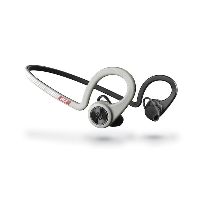 Ecouteurs sports sans fil Backbeat Fit bluetooth gris noir - 1155166