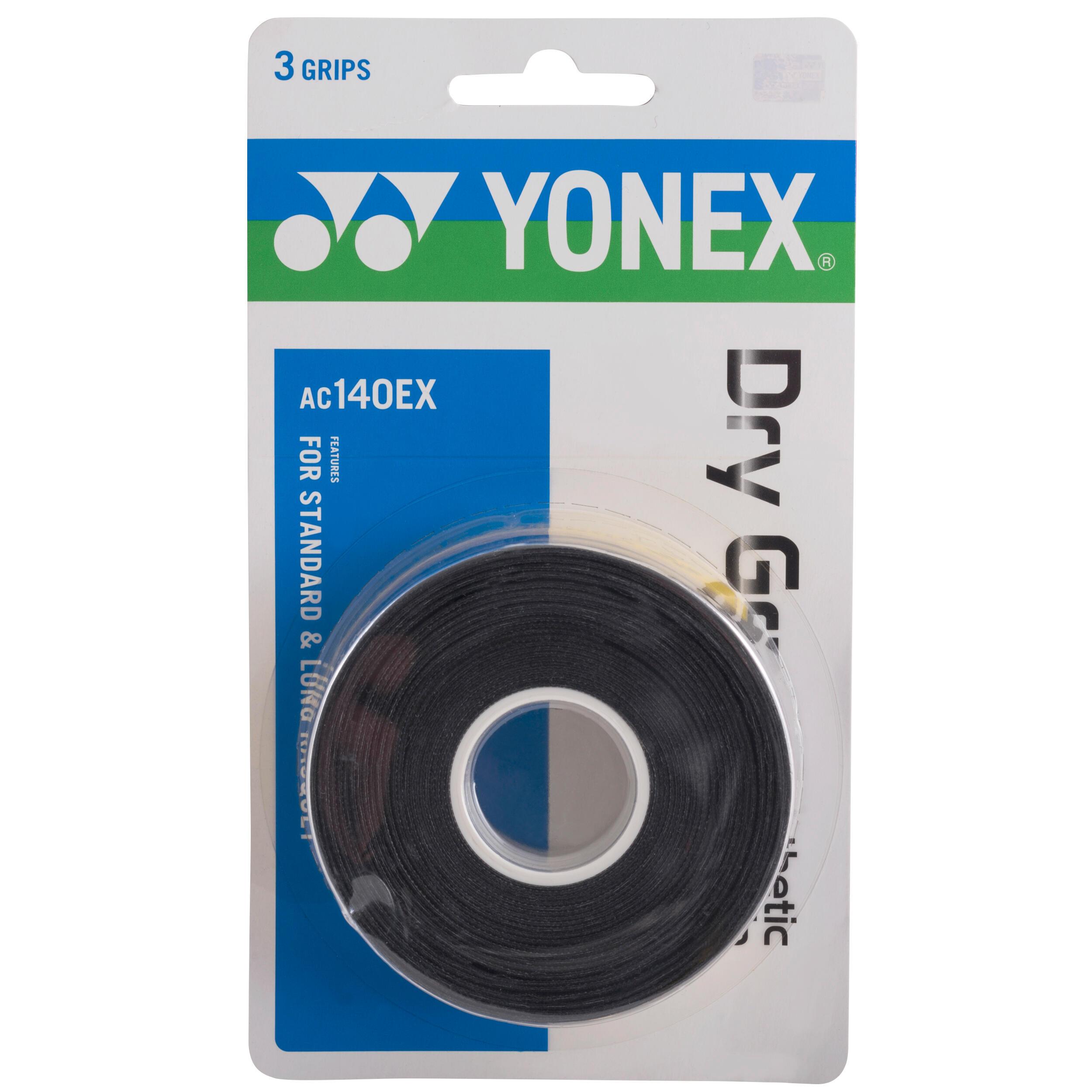 Yonex Overgrip badminton AC102 zwart set van 3 kopen