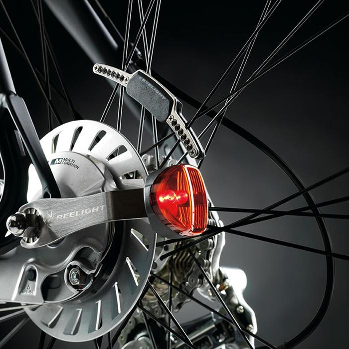 KIT ALUMBRADO BICICLETA LED REELIGHT SL200 DELANTERO y TRASERO