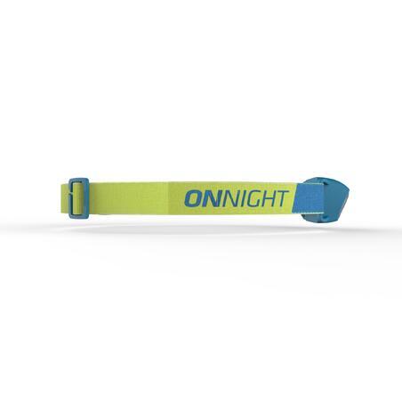 Battery-operated Trekking Head Lamp ONNIGHT 100 80 Lumens - Blue