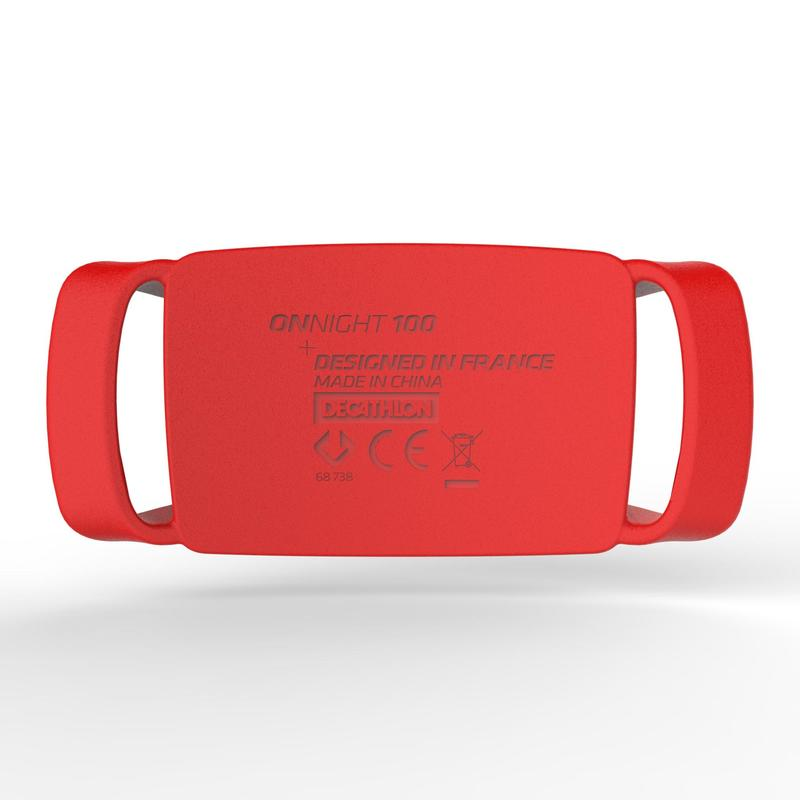 Onnight 100 - 80 lumens Trekking Head Torch - Red
