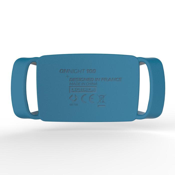 登山健行頭燈Onnight 100(80流明)-藍色