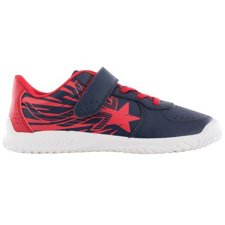 Enfant Tennis Rouge Artengo Chaussures Ts130 Bleu n80wmN