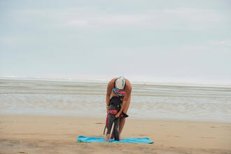 5 techniques for putting on your open water wetsuit