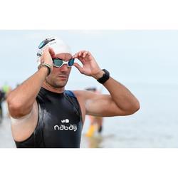 Neopreen wetsuit voor zwemmen in open water heren OWS 500 mouwloos 2/2 mm