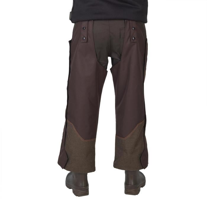 Jagd-Regenüberhose (Chaps) Renfort 900