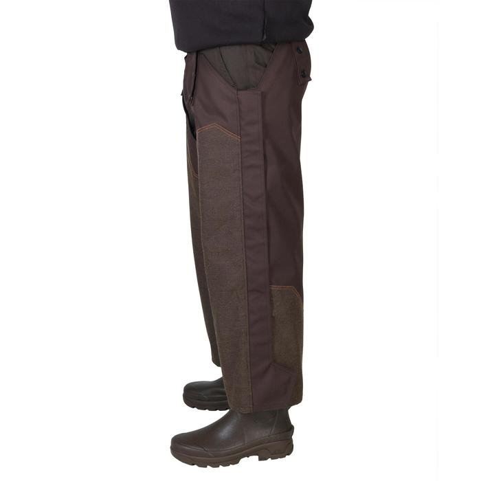 Cuissard chaps chasse imperméable renfort 900