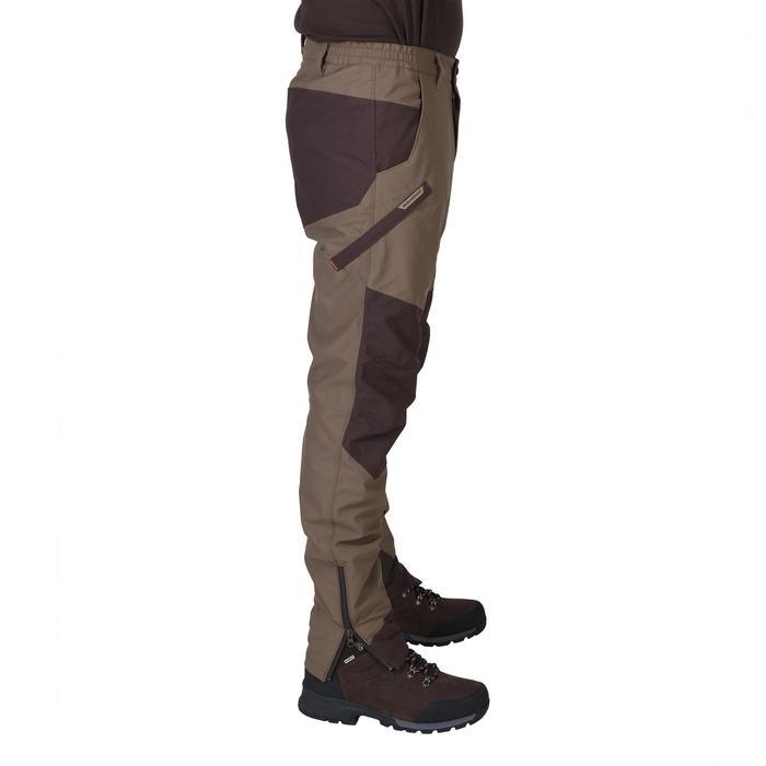 Jagd-Regenhose Renfort 500 braun