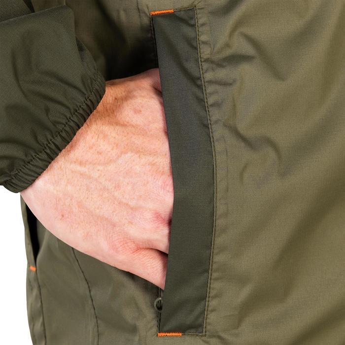 Regenjas 100 voor de jacht kaki