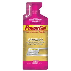 Energiegel Power Gel aardbei/banaan 41g