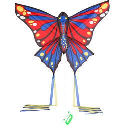 Cometas acrobáticas Playa Orao Para Niños MFK 160 Azul/Rojo/Amarillo Mariposa