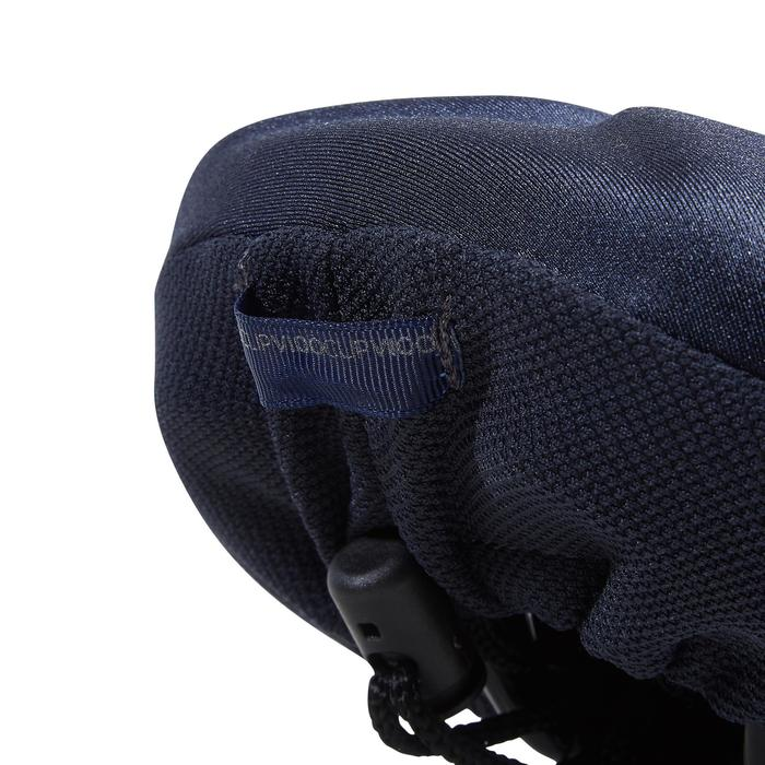 500 M Memory Foam Saddle Cover - Blue