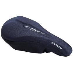 500 M 記憶泡棉自行車坐墊套- 黑色