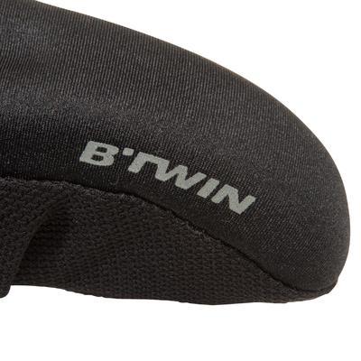 500 Saddle Cover MemoryFoam - Size L - Black