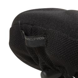 500 Saddle Cover MemoryFoam - Size L - Black