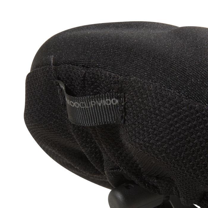 Sattelbezug Memoryfoam 500 Größe M schwarz