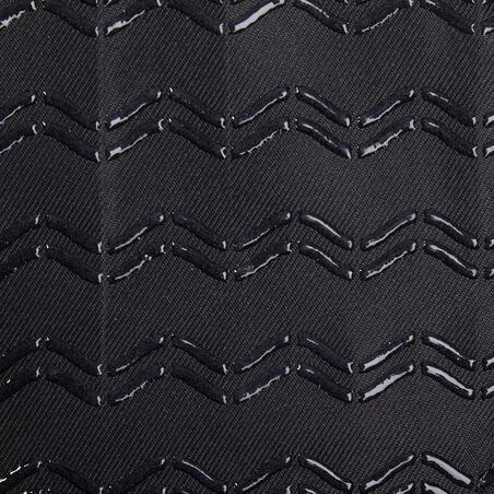 """Atmiņas putu sēdekļa pārvalks """"500"""", M izmērs, melns"""