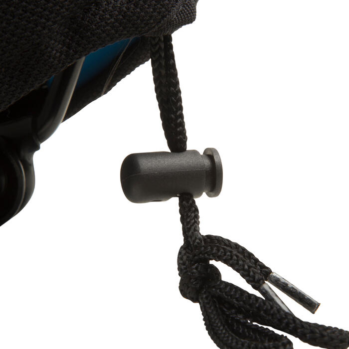 Memory Foam Saddle Cover 500 Size M - Black