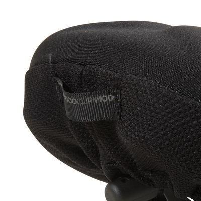 غطاء مقعد دراجة 500 XLمن الفوم Memory - أسود