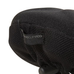 500 Saddle Cover MemoryFoam - Size XL - Black