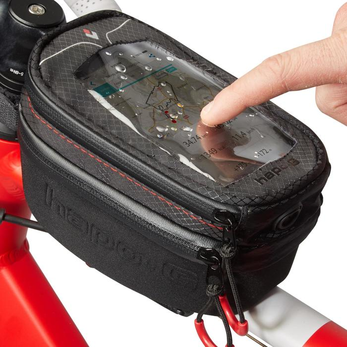 Sacoche smartphone rigide pour cadre vélo - 1156114