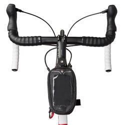 Smartphonehouder fiets met opberghoesje zwart