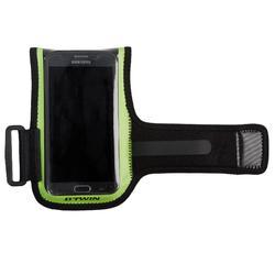 Smartphonehouder voor op de fiets 500 geel