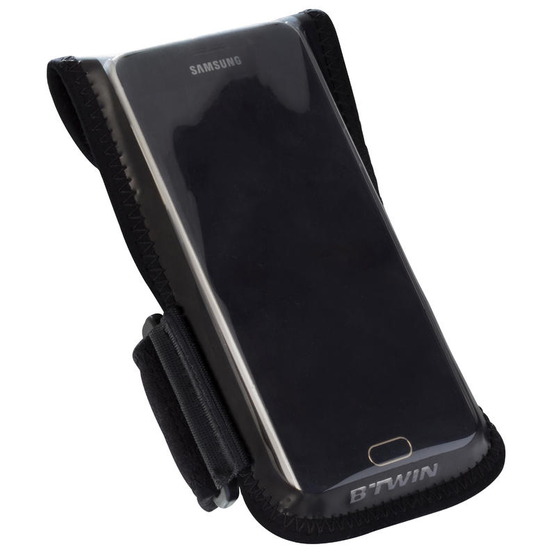 Soporte bicicleta para smartphone 500 negro