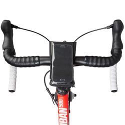 自行車手機固定套500-黑色