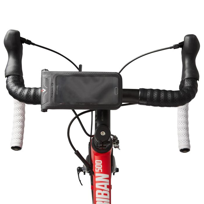 Soporte estanco smartphone para bicicleta.