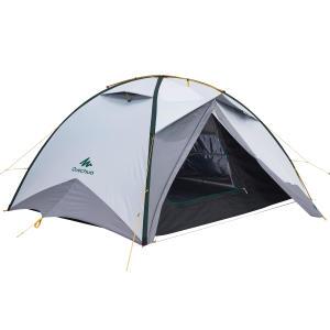 Tente de trek Quick Hiker 3 personnes fresh & black QUECHUA
