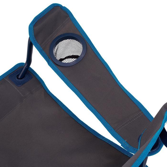 Vouwstoel camping blauw