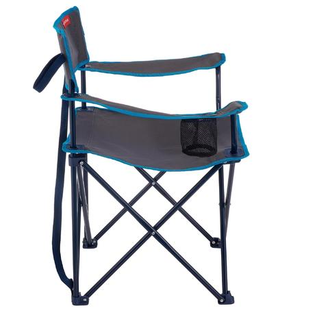 fauteuil de camping pliant camp du randonneur gris quechua. Black Bedroom Furniture Sets. Home Design Ideas