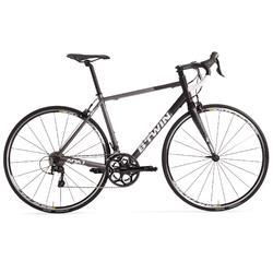 Racefiets Triban 540 wielertoerisme grijs/zwart