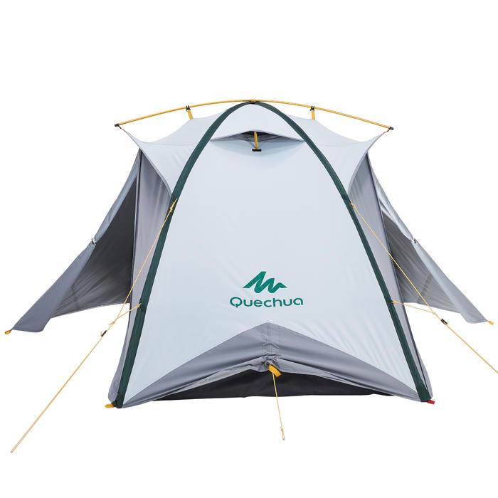 quechua tente de trek quick hiker 2 personnes fresh black decathlon. Black Bedroom Furniture Sets. Home Design Ideas