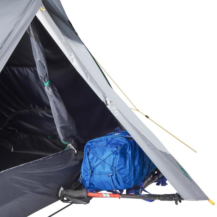 Tente de trek Quick Hiker 2 personnes Fresh & Black