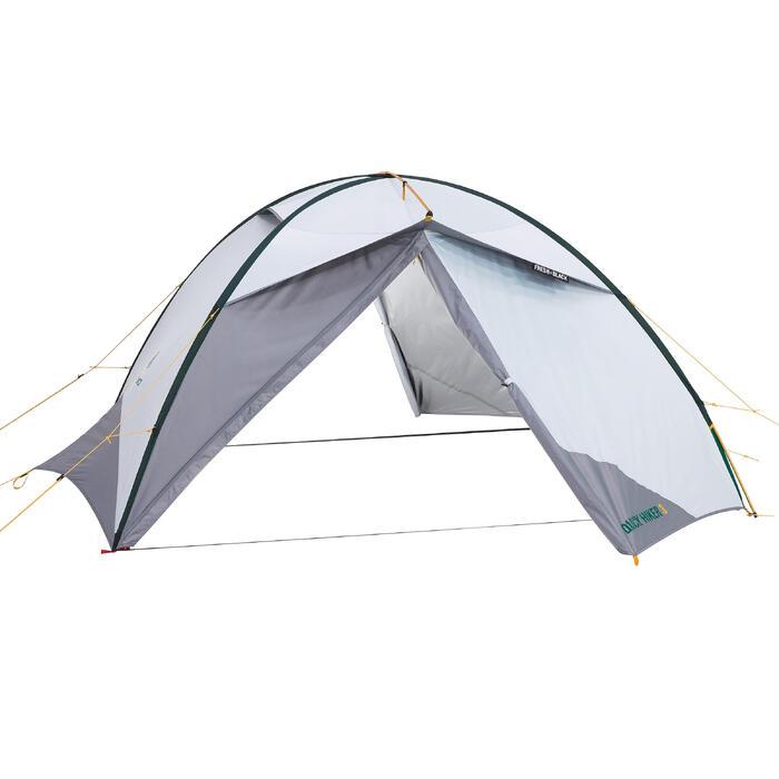Tente de trek Quick Hiker 3 personnes Fresh & Black - 1156369