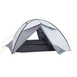 Tienda Campaña y Vivac de Montaña y Trekking Forclaz QuickHiker 3p Fresh & Black