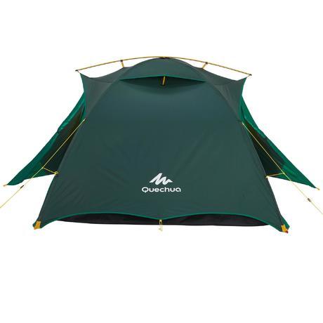 Next  sc 1 st  Quechua & Quick Hiker 3-Person Trekking Tent - Green | Quechua