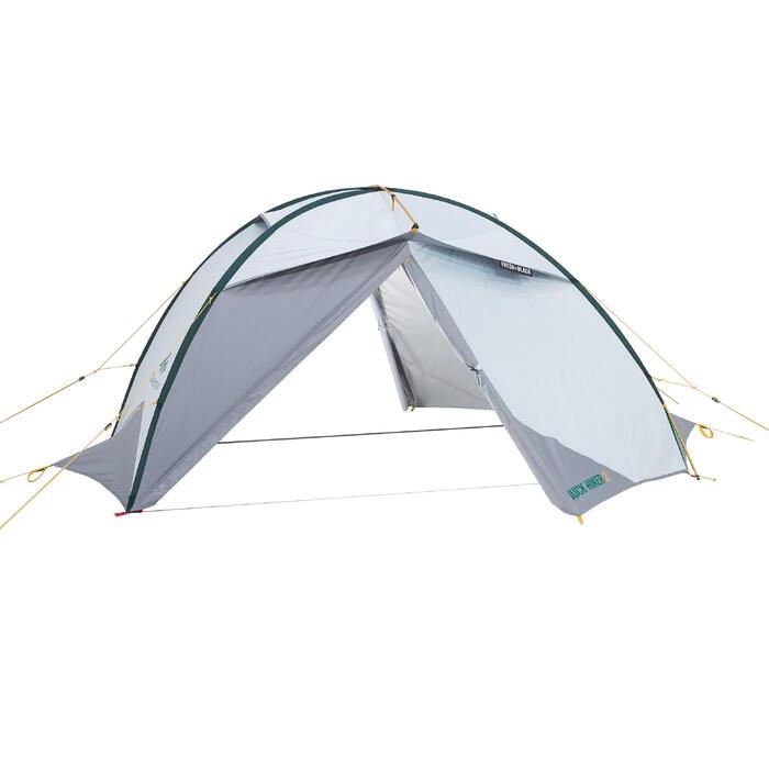 Buitentent voor Quechua-tent Quick Hiker 2P F&B