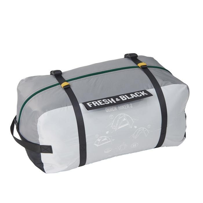 Trekkingzelt QuickHiker 2 Fresh&Black