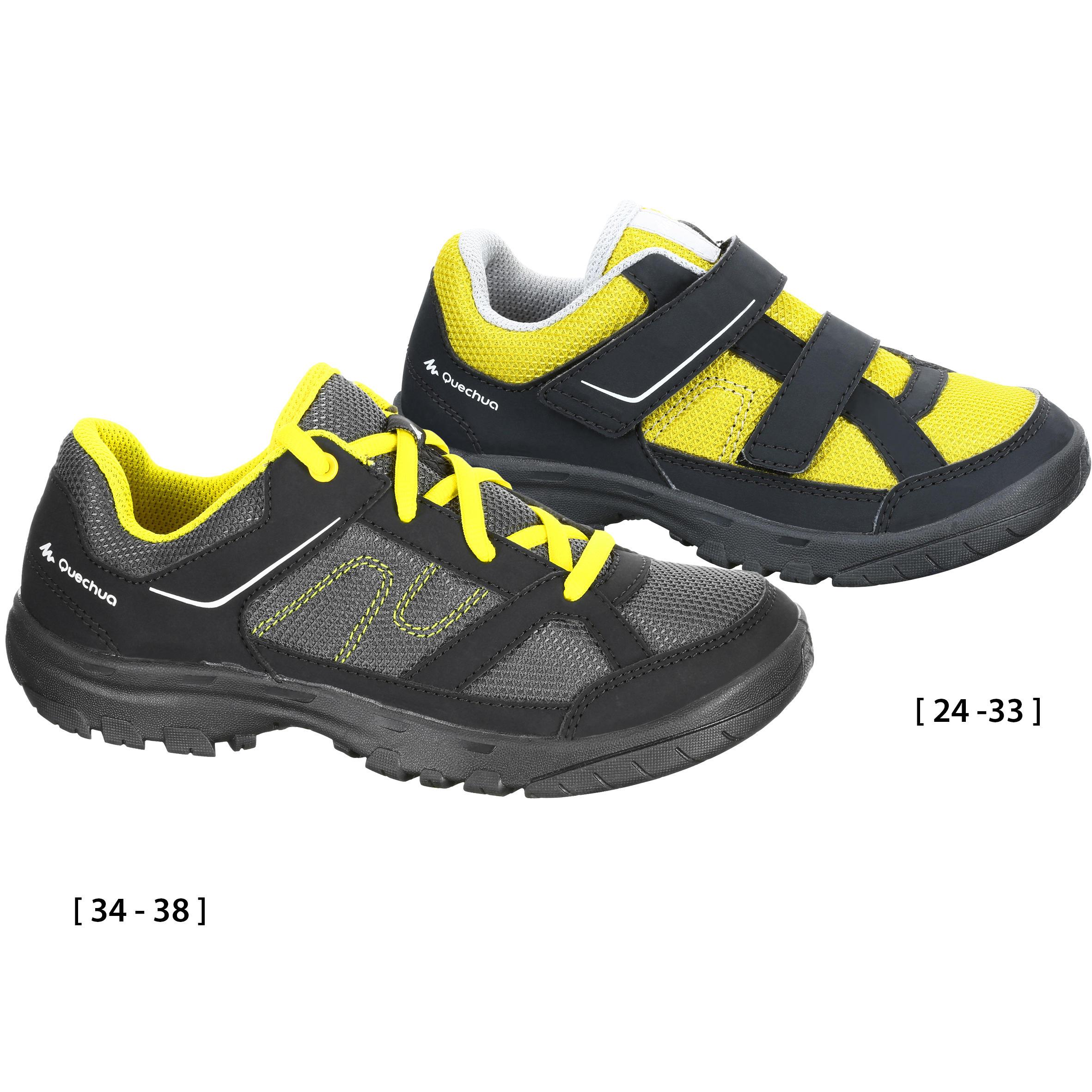 Arpenaz 50 Children's Hiking Boots - Yellow